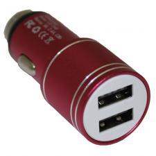 """Переходник прикуривателя USB """"Duplex"""", 12/24В, 2,4А"""
