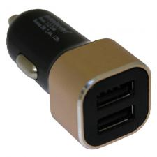 """Переходник прикуривателя USB """"Twin"""", 12/24В, 2,4А"""