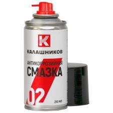Антикоррозийная смазка  КАЛАШНИКОВ , 210 мл.